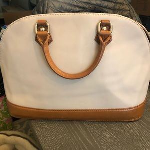 Bag from leather market in Italy